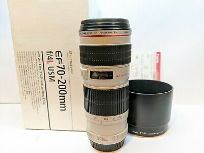 Canon EF 70-200mm f/4L USM Telephoto Zoom Lens - SUPER CLEAN GLASS !!