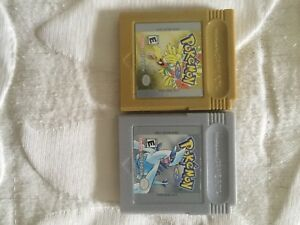 Pokemon gold and silver for game boy