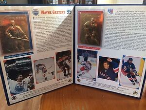 Collectable hockey cards
