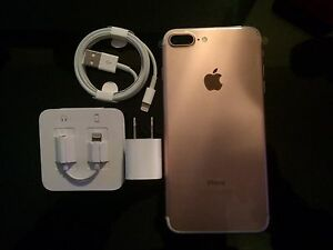 ROSE GOLD IPHONE 7 PLUS 256GB, BRAND NEW WITH ROGERS.