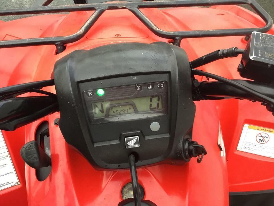 2009 HONDA TRX420 FM MANUAL FOURTRAX 4x2x4 4WD QUAD BIKE ATV FOUR WHEEL