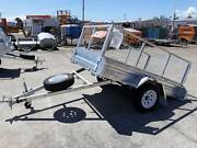 8x5 Galvanised Cage Trailer with Tilt Arundel Gold Coast City Preview