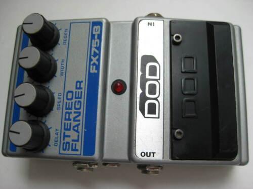Vintage DOD FX75-B Stereo Flanger Guitar Effect Pedal USA