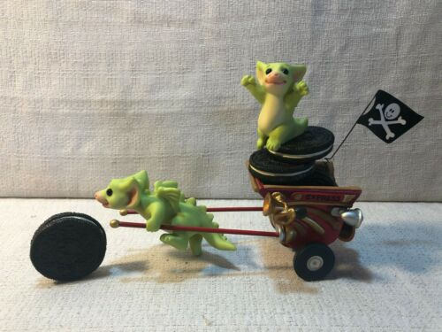Whimsical World Of Pocket Dragons Go Go Getaway Cart One Year Special Figurine