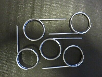 Lot Of 5-fire Extinguisher Lock New Style Large Loop Safety Pull Pins