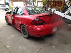 2003 Grand AM  (as is where is)