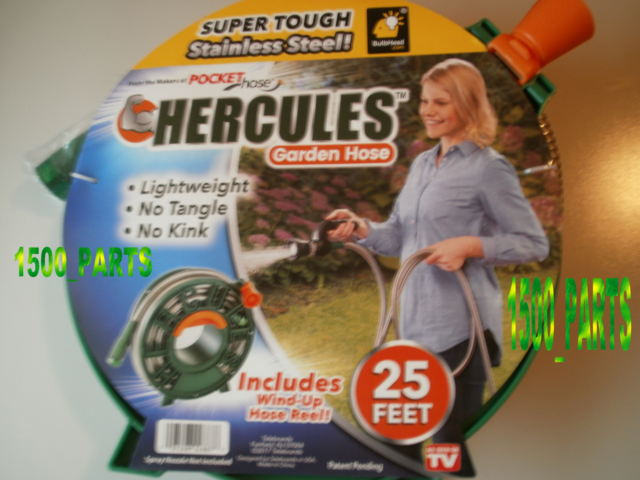Hercules 25 FT Super Tough Stainless Steel Garden Hose by as