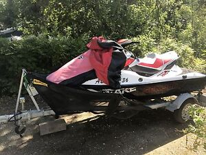 2012 Seadoo 215 Wake 20 hours with lift included too