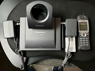 Panasonic Kx-td7896-b. Cellular Wireless Phone Refurbished Done By Escinc.