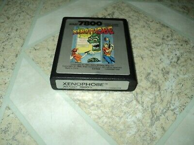 Xenophobe Atari 7800 Works