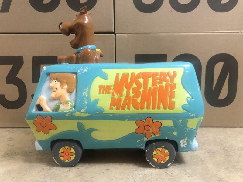 Vintage 90's Scooby-Doo Mystery Machine Cookie Jar Warner Bros Collectible
