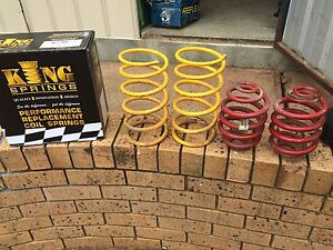 Commodore lowered springs vt vx vy vz Happy Valley Morphett Vale Area Preview