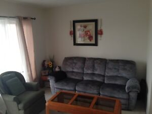 3 Seater Recliner Couch **Moving Sale **