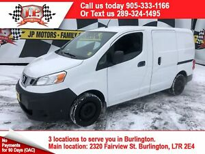 2013 Nissan NV200 S, Automatic, Cargo Divider,