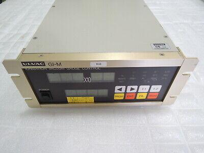 Ulvac Gi-m Ionization Vacuum Gauge Control  Free International Shipping
