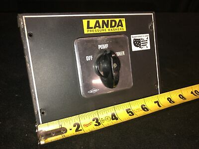 Genuine Landa Ohw4-30024c Pressure Washer Offpumpburner Switch. Bremas Brand