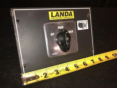 Genuine Landa Ohw4-30024c Pressure Washer Offpumpburner Switch. Bremas Brand