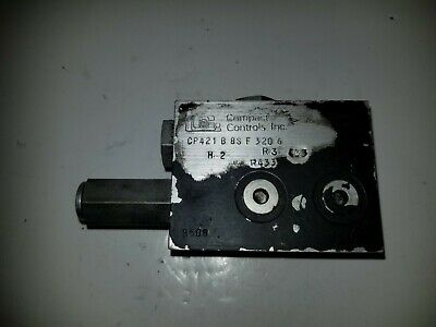 Used Compact Controls Hydraulic Valve Cp421b85f3206