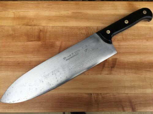 Monster Vintage F. Dick Lamb Splitter Knife Ironwood Handle