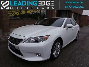 2015 Lexus ES 350 leather, heated and ventilated front seats