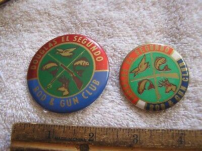 Douglas  El Segundo Rod & Gun Club Pins Lot 2