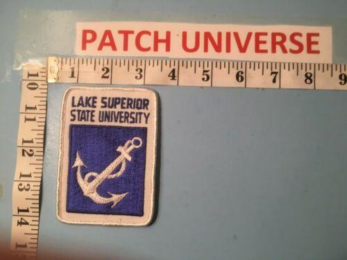 LAKE SUPERIOR STATE UNIVERSITY  SHOULDER  PATCH  O063