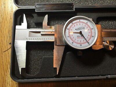 Igaging Dial Caliper 6150mm Dual Scale Metric Inmm