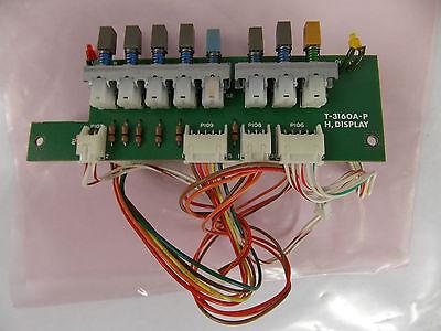 Leader Lbo-516 Oscilloscope T-3160a-p H. Display Circuit Board Assy.