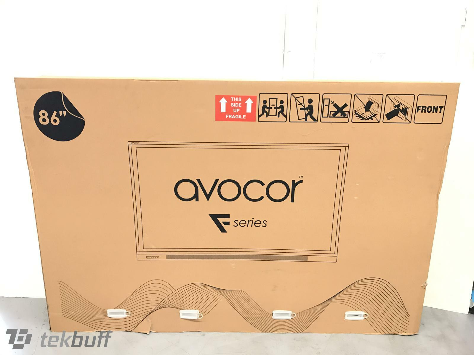 """Avocor F50-Series AVF-8650 86"""" 4K Interactive Touch Display -20-Point Touch 60Hz"""