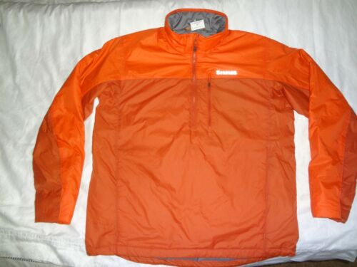 SIMMS MidStream Insulated Pull Over - Color Simms Orange - Size LARGE -FREE SHIP
