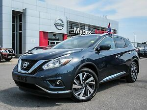 2017 Nissan Murano PLATINUM, INTELLIGENT KEY, NAVIGATION, BACK U