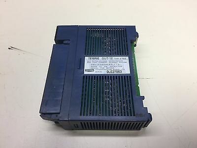 Toyoda / Toyopuc Output Module, OUT-12, 24VDC / 240VAC, THK-2752, Used, WARRANTY
