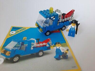 LEGO 6656 Breakdown Truck Abschleppwagen komplett Vintage BA