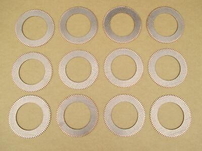 12 Reverser Clutch Plates For John Deere Jd 1010 Crawler 350 350c 350d 355d