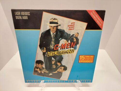 G-MEN VS THE BLACK DRAGON LASERDISC Not Dvd - $9.99