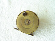 Antique Brass Fly Reel