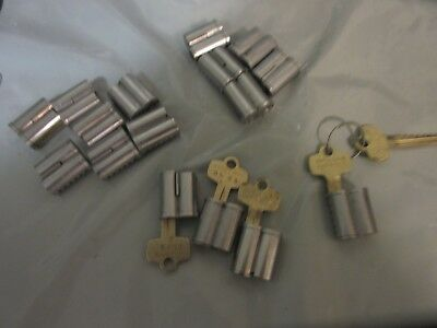 Falcon Interchangeable Cores A Keyway 6 Pin Used