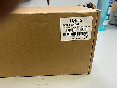New Hytera Mca08 Six Unit Rapid Rate Charger For Pd4x2 Pd5x2 Pd6x2 Pd7x2 Pd982