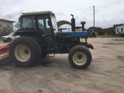 Iseki 95 hp tractor and irrigation pipes for sale