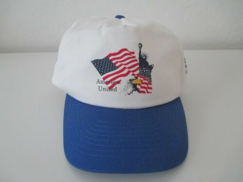 AMERICA UNITED Snapback Ball Cap Hat Advertising AC Delco New Old Stock 2)
