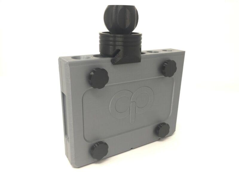 Combo Cannagar Press Kit CigarThai Stick Press Mold Kit Silver/Black