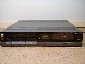 VINTAGE Sony Betamax Greenwith Tea Tree Gully Area Preview