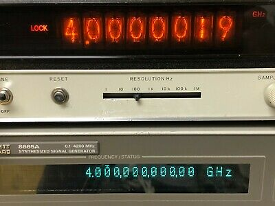 Hp Agilent 5340a Frequency Counter - 10 Hz - 18 Ghz Opt. 011h10