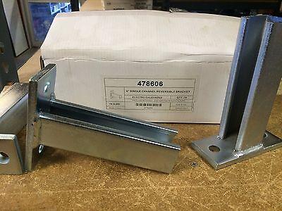 478606 P2944 1-58 X 6 Post Base Bracket For Unistrut Channel Qty 4 Bases