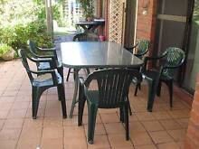 Garden dining setting for 6 Little Grove Albany Area Preview