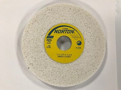 Norton 7x12x1-14 38a60f12vbep Grinding Wheel Nos
