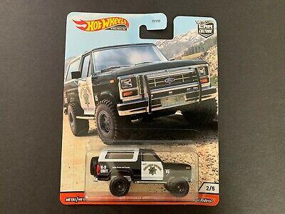Hot Wheels Ford Bronco California Highway Patrol FPY86-956Q 1/64