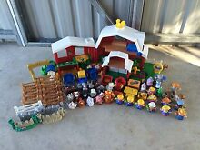 Bulk Lot of Fisher Price Little People Play Sets & Figures Brassall Ipswich City Preview