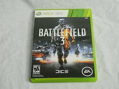 Xbox 360 Battlefield 3 Game Online Interaction Action Mature 2 Disc Set Free S H