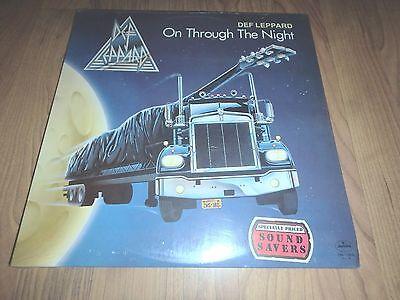Def Leppard - On Through The Night LP vinyl record sealed NEW RARE